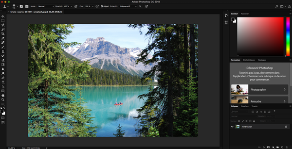 Interface Photoshop