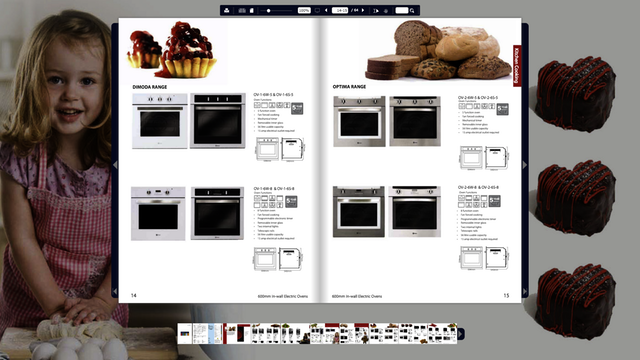 Catalogue interactif KitchenCooking
