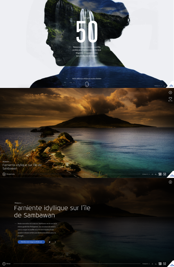 Site interactif voyage iFly