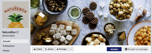 Couverture Facebook Flat Lay