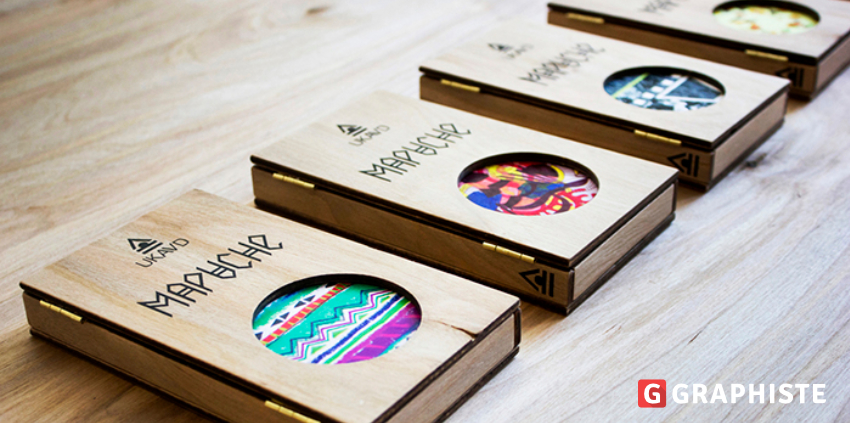 Inspiration : packaging bois