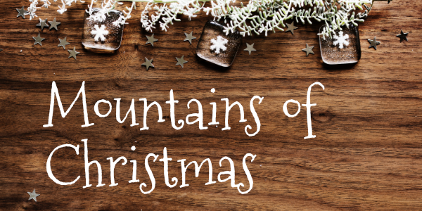 Mountains of Christmas typographie