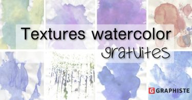 Textures watercolor gratuites