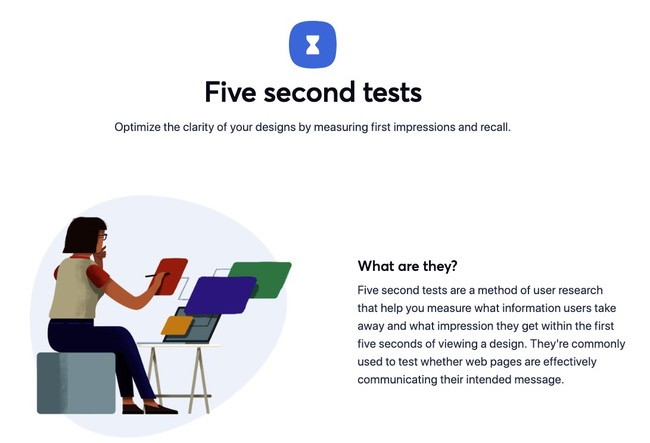 Five Second Tests