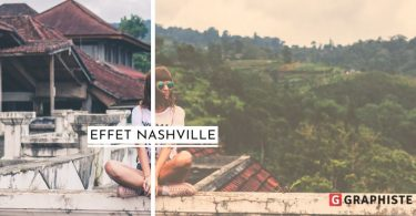 Tuto Photoshop effet Nashville Instagram
