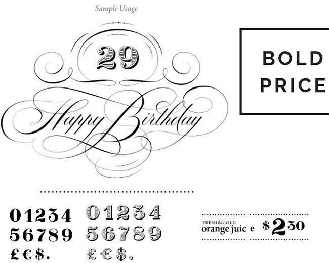 bold price typographie pour graphiste réussir ses infographies chiffres