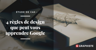 etude de cas google design blog graphiste