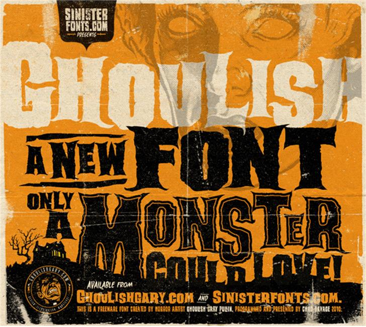 halloween typographie superbe pour graphiste