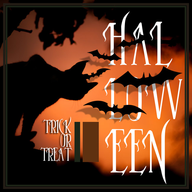 free font typographie pour halloween graphiste