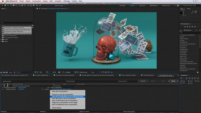 outil motion design video animation after effect adobe