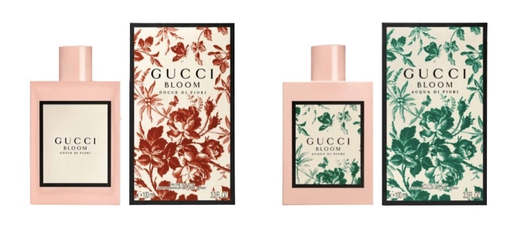 inspiration packaging parfum Bloom Gucci