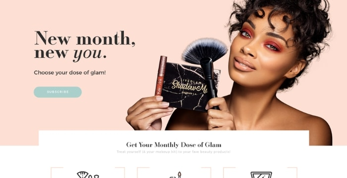 site web cosmetique