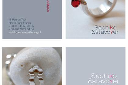 Logotype pour créatrice franco-japonaise