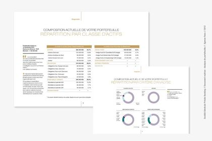 Document financier,  analyse d'actif