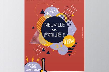 Affiche Braderie Neuville
