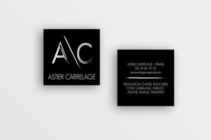 Carte de visite Astier