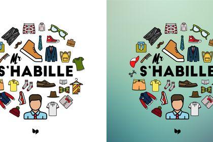 "Logo ""Mr S'habille"""
