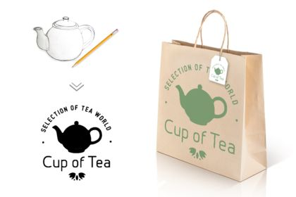 Packaging - Sac en papier promotionnel