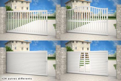 Visuel Commercial 3D - Portails