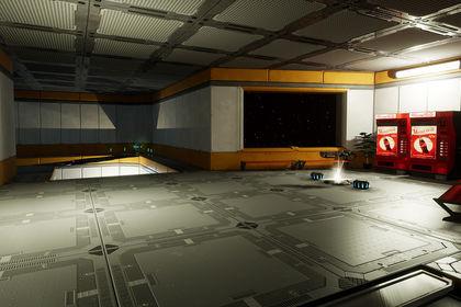 Environnement 3D complet - Unreal Engine