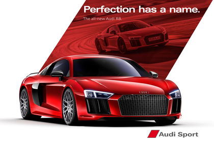 Audi R8 Illustration 3D