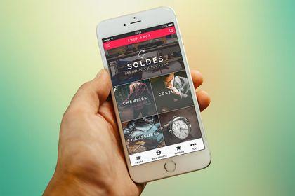 Appli mobile Shopping