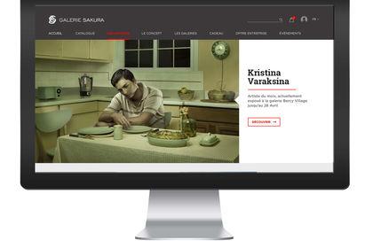 Site Web responsif Sakura