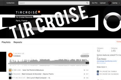 Bannière pour Tir Croisé Records