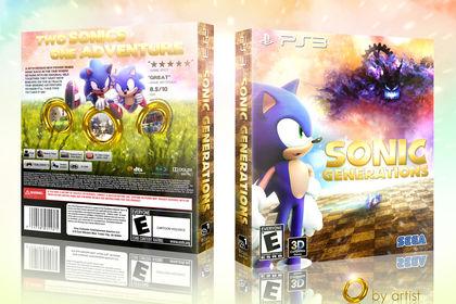 VGBOXART - Sonic game (Contest)