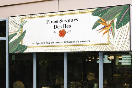 Bannière brand Epicerie fine