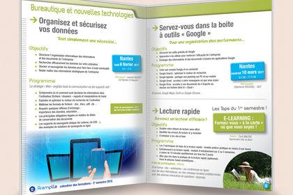 Mise en page -Catalogue de formations