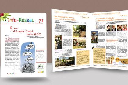 Mise en page - Bulletin d'information