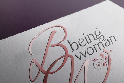 Logo- Création- Association Being Woman