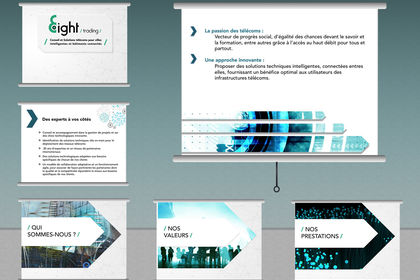 Présentation Corporate Powerpoint - Eight Trading