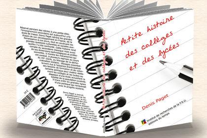 """Couverture """"Petite histoire des collèges..."""""""