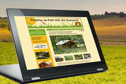 Webdesign-site camping