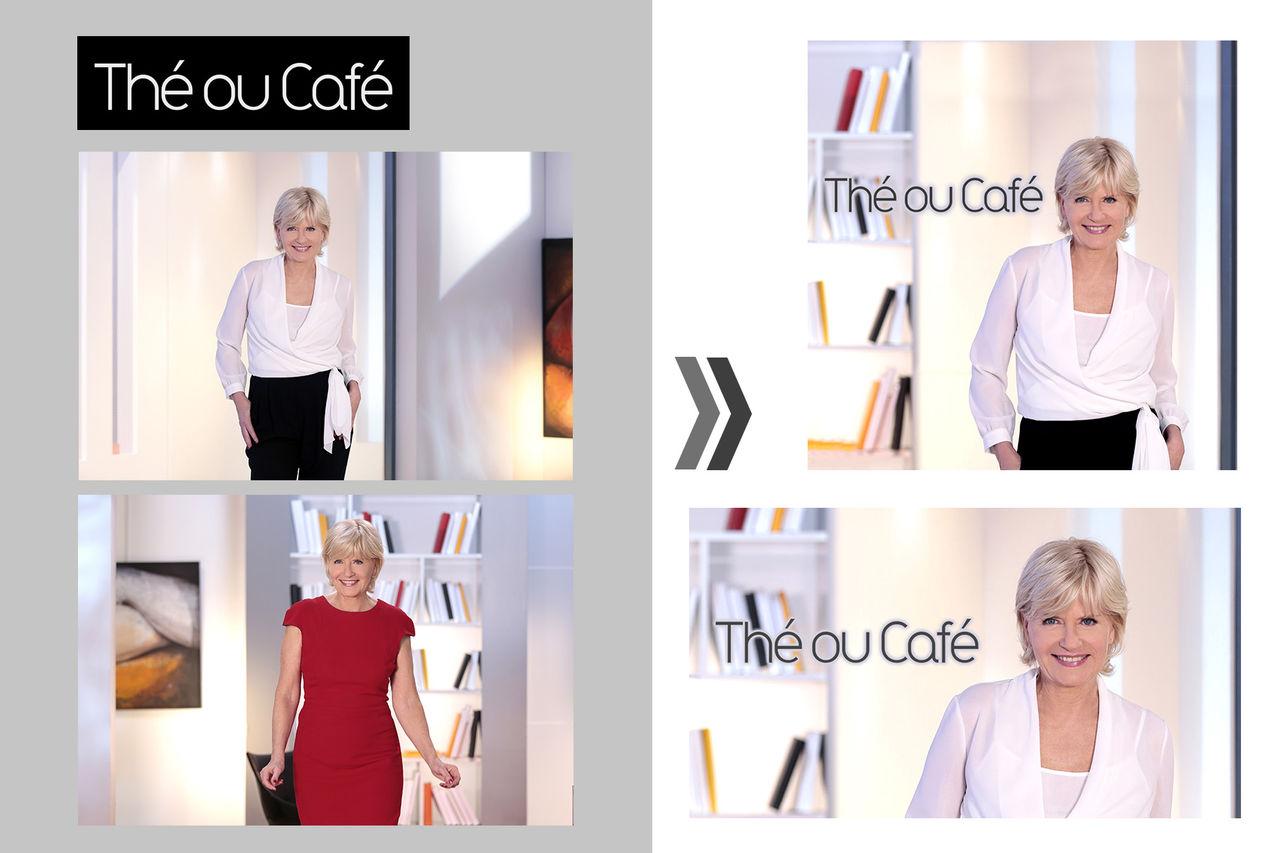 Retouches et détourage Photoshop - France TV
