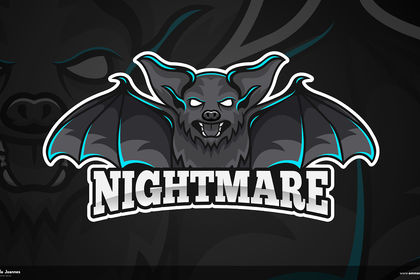 Logotype Mascotte Esport - Gaming