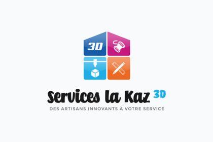 Logo Services La Kaz 3D