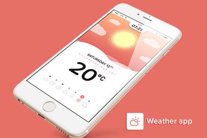 Weather app #1