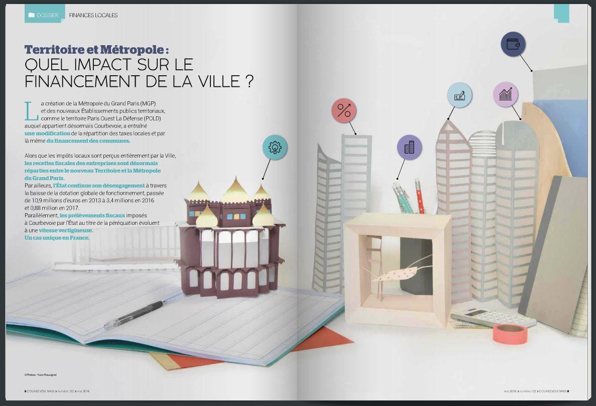 Magazine mensuel - commune de Courbevoie