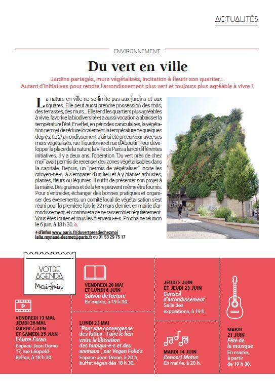 Magazine bimensuel - Marie du 2e