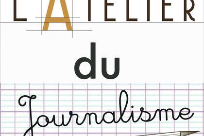"""Logo émission """" l'atelier du journalisme """""""