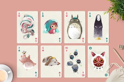 Jeu de cartes Ghibli