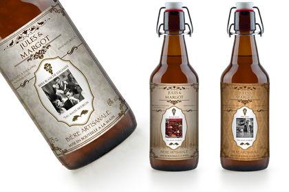 Présentation bouteilles de bières