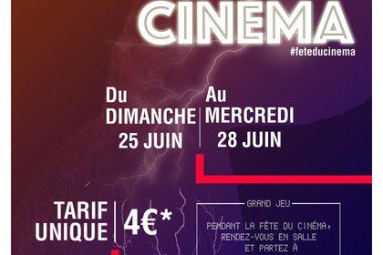 Modèle Affiche Fête Du Cinéma
