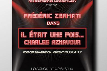 Mockup affiche spectacle de Frédéric Zermati