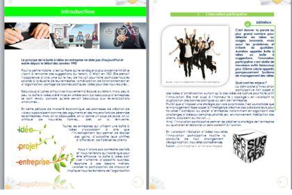 Exemple mise en page d'un projet d'entreprise