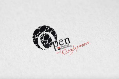 Création de logo Open des Rugbymen