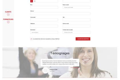 Design UI back + front